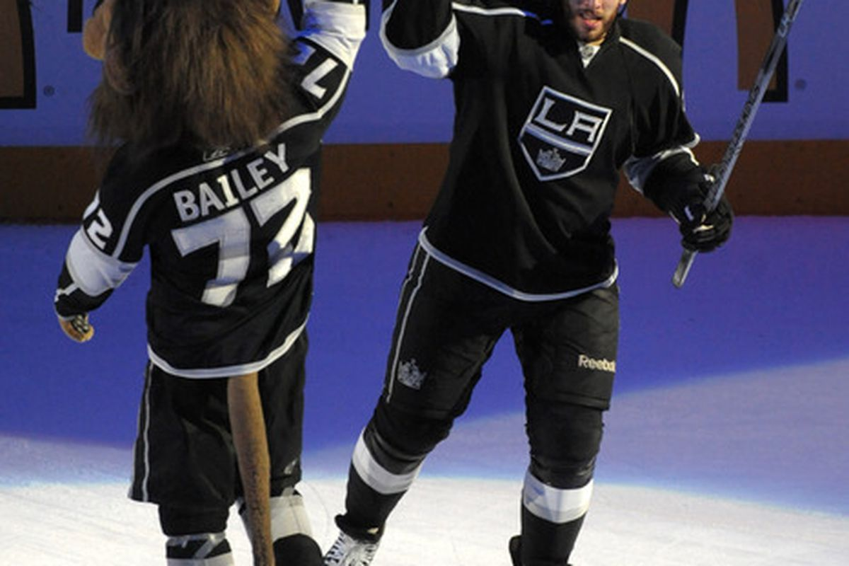 Kopitar looks different from behind.