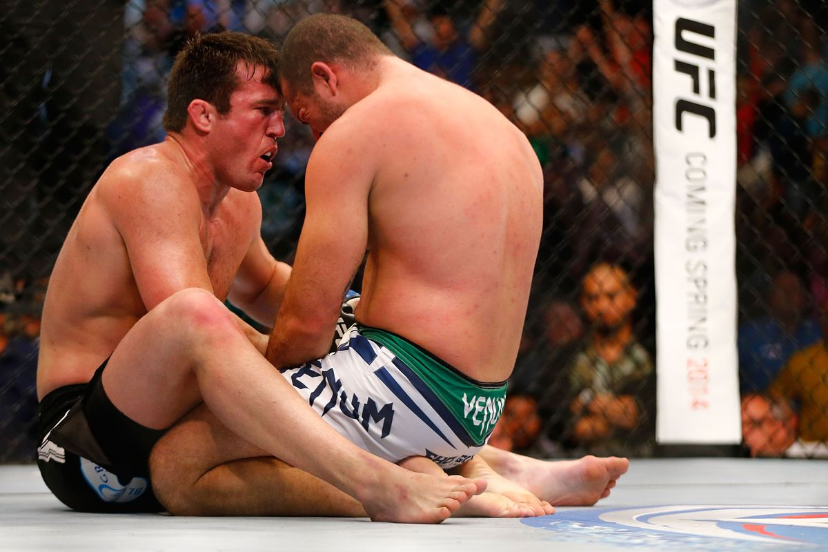 Chael Sonnen says that his win...