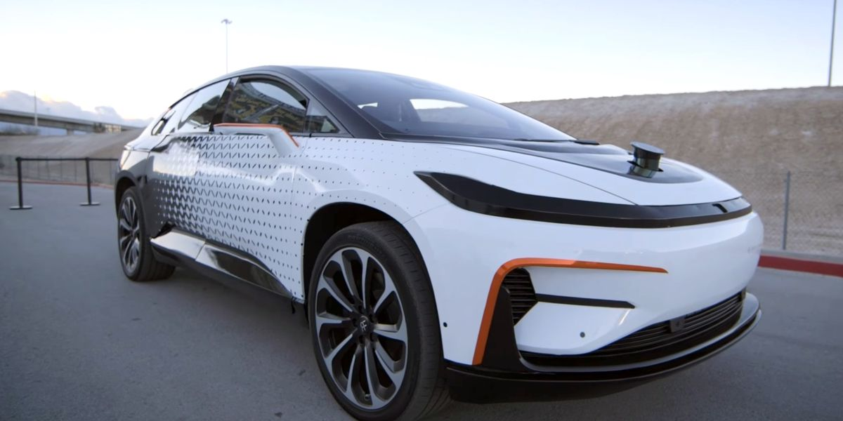 Watch Faraday Future S All Electric Car Race Up Pikes Peak The Verge
