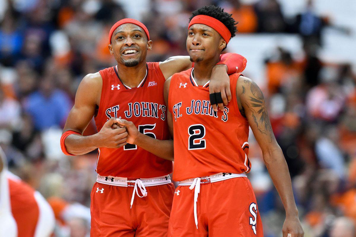 NCAA Basketball: St. John at Syracuse