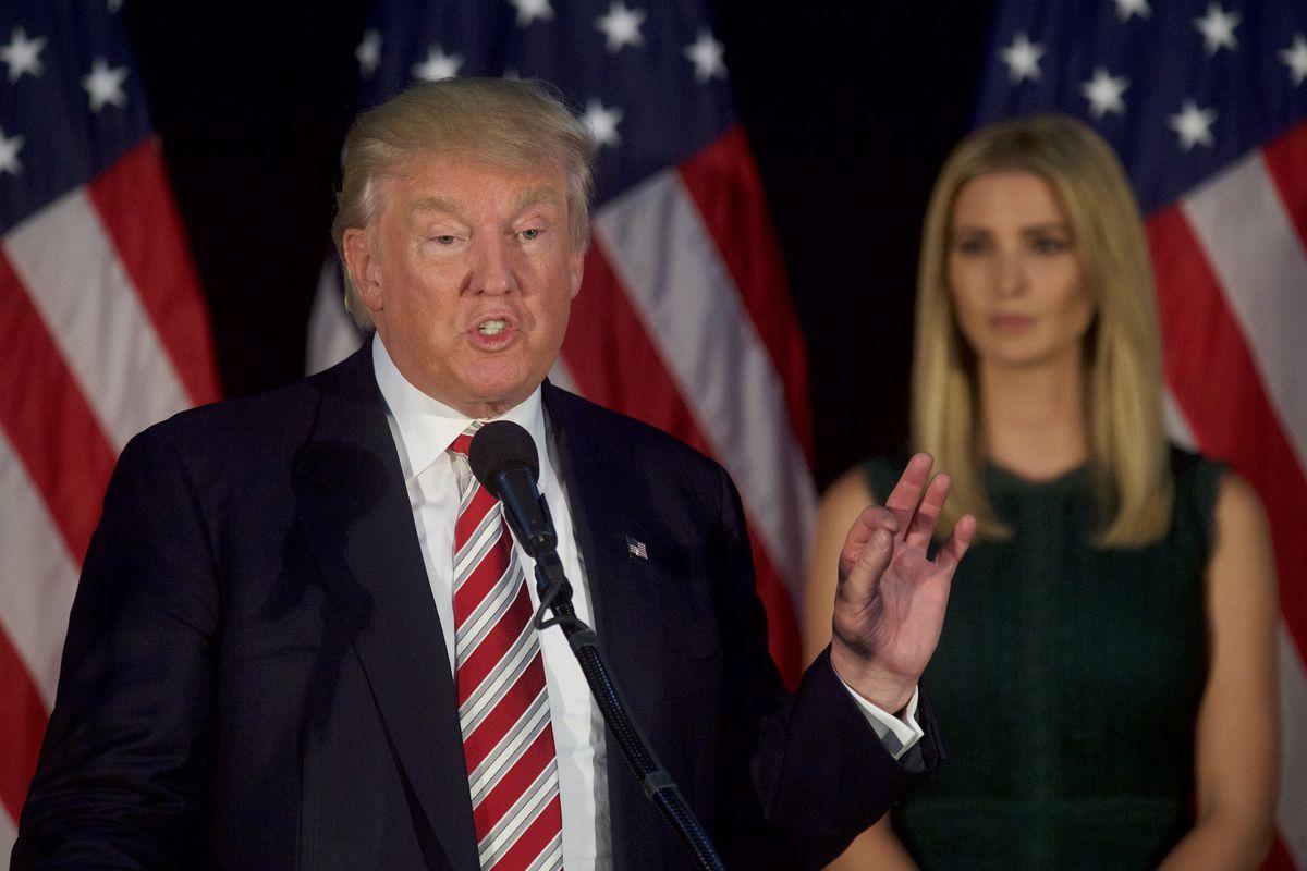 Donald Trump Holds Campaign Event In Philadelphia Area