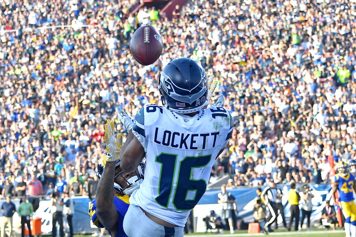 san francisco 15343 b2b13 Tyler Lockett and penalty timing went well, too well, for ...