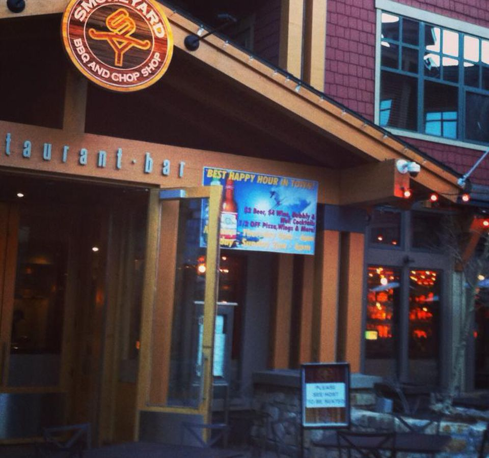 This Is The Go To Spot For Burgers And Bbq In Mammoth Village Seating Available At Tall Tables Sports Bar Or Open Dining Room