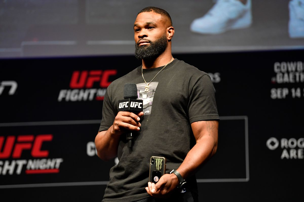 Tyron Woodley won't be fighting Leon Edwards because he's a GOAT, not a gatekeeper