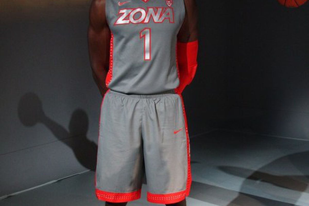 huge discount d0cc6 96cbc Arizona Wildcats Unveil New Nike Hyper Elite Platinum ...