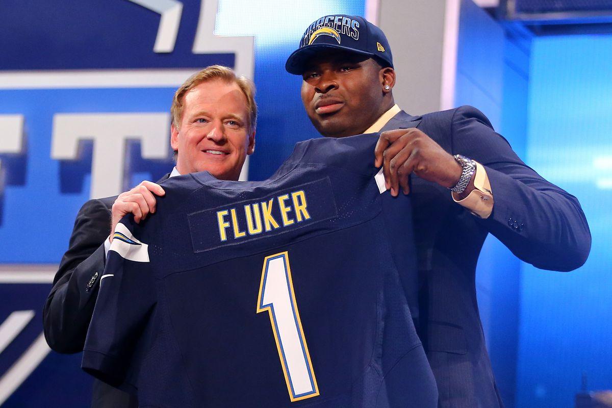 Former Alabama player D.J. Fluker is accused of major NCAA wrongdoing.