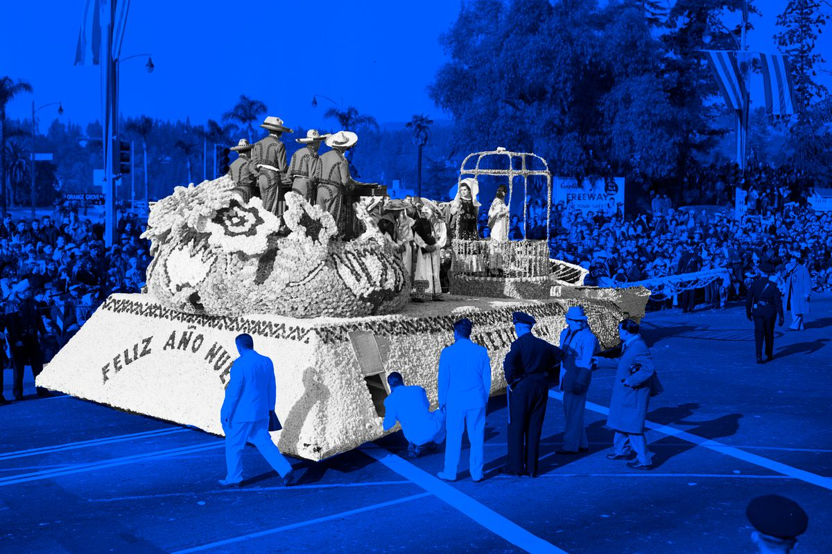 Roes Parade float, 1951.