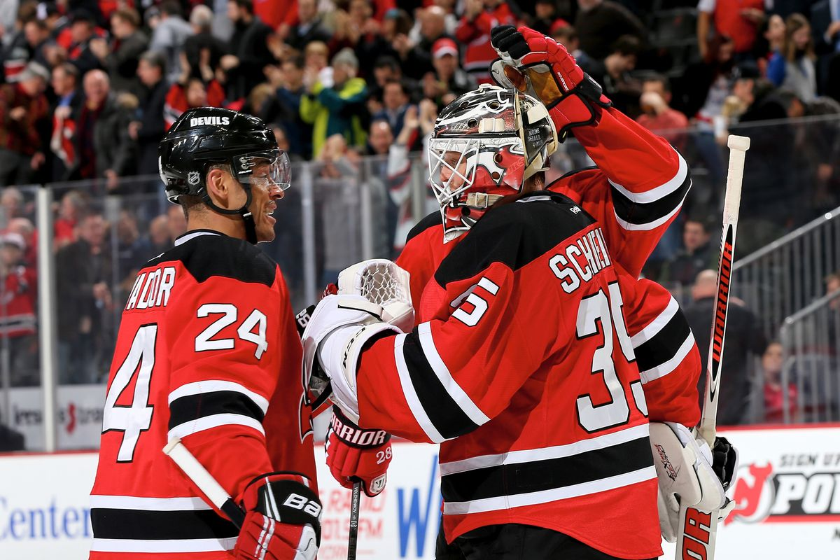 Congratulations, Schneider, you led the Devils to win another close game by playing really, really well!