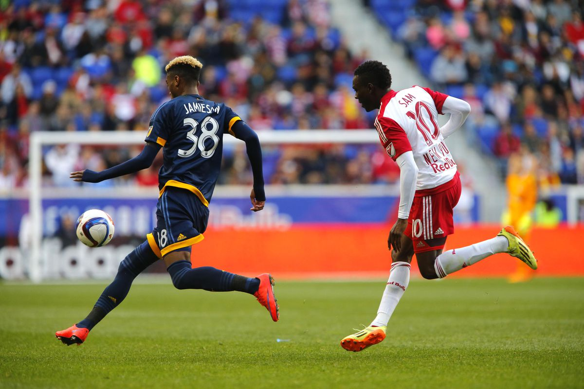 Bradford Jameison IV scored his first goal in MLS on Sunday