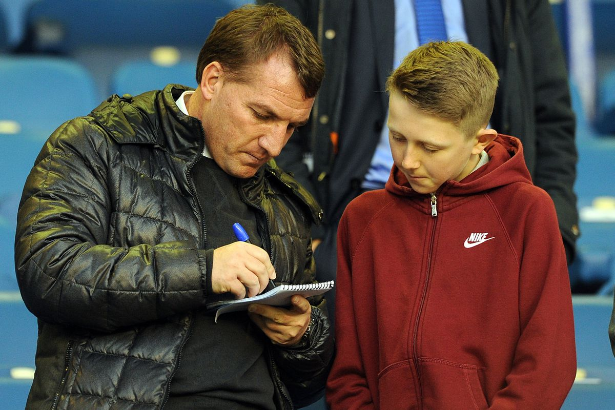 """""""Listen son, you can be an oytshtandin' young City fan. I see it in you. Try the pointing like this and then your chant..."""""""