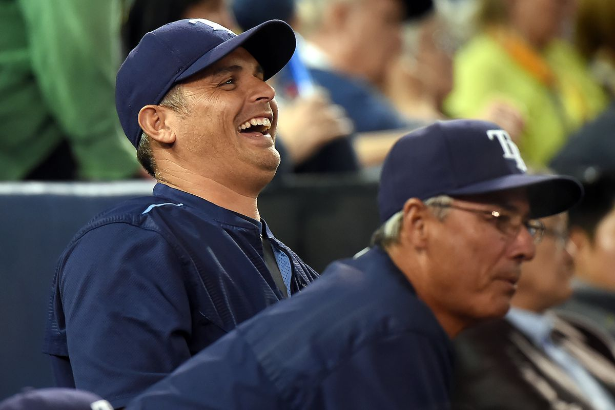 This... pretty much says it all. A laugher in the Dome Tuesday as the Jays lose 12-2