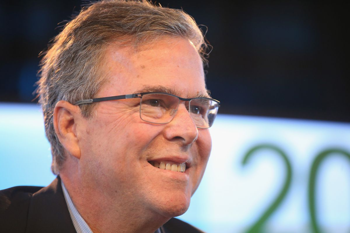"""Jeb Bush praised Indiana's controversial new law on Monday. """"We're going to need this,"""" he said."""
