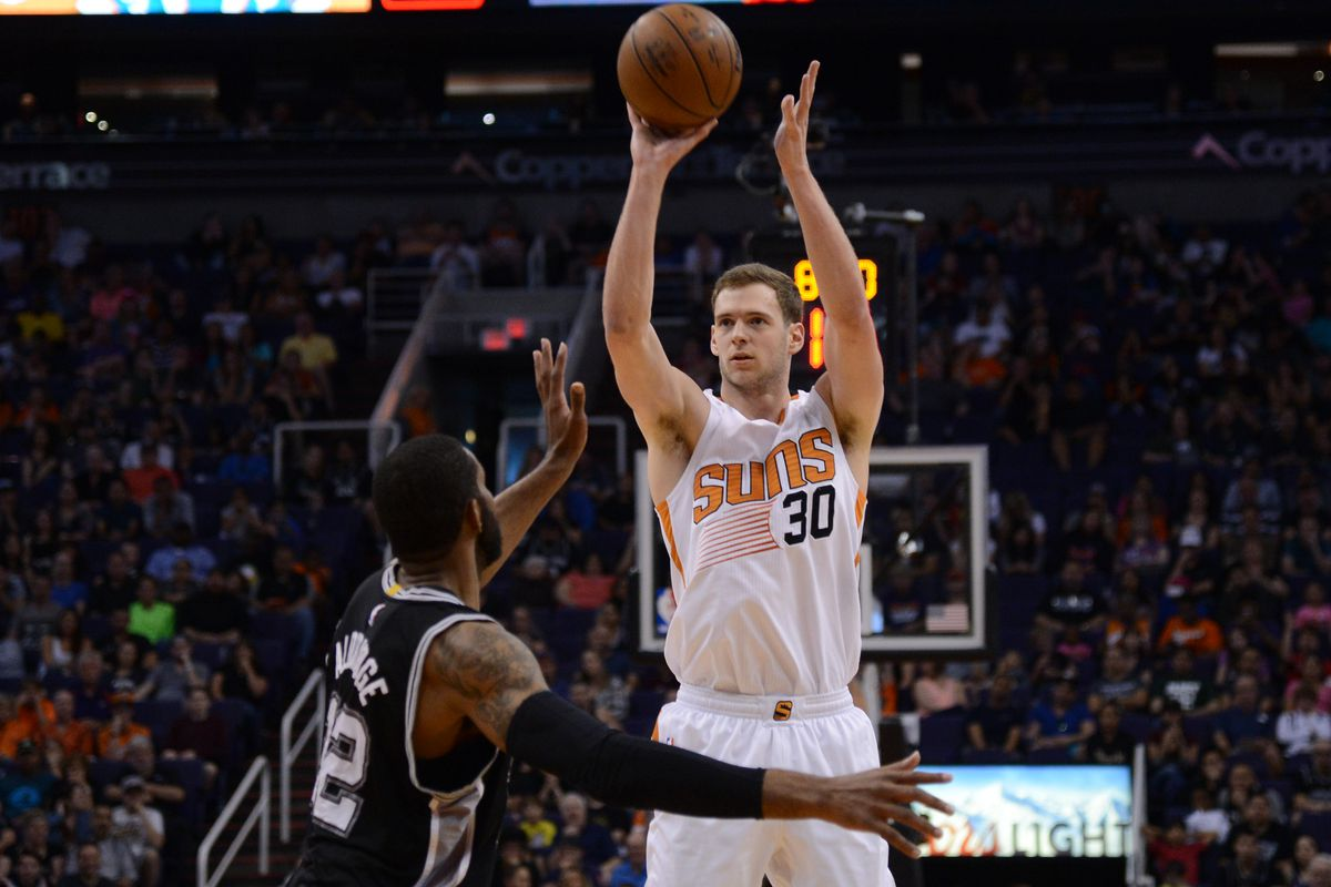 Hey, guys! Remember me?  I'm Jon Leuer! The other other other power forward on the Phoenix Suns.