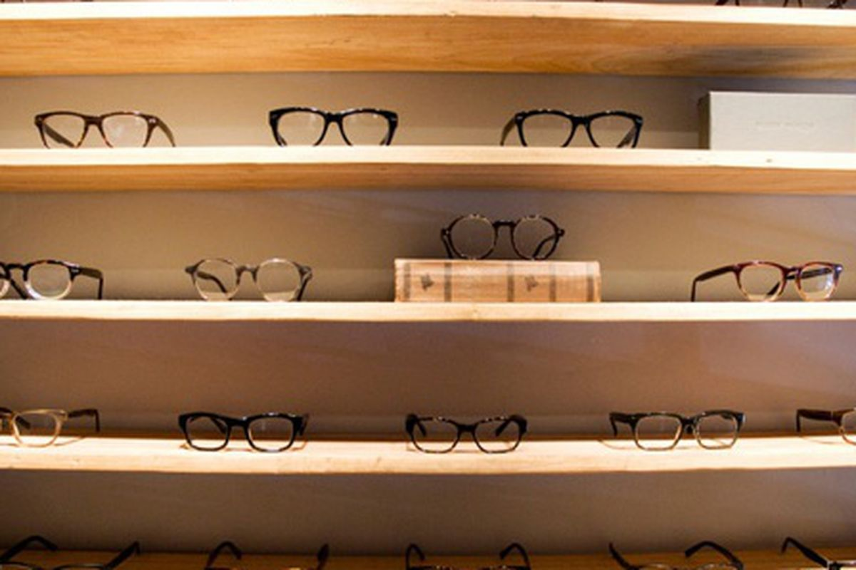 """From inside the Oklahoma City Warby Parker showroom, via <a href=""""http://www.warbyparker.com/showrooms#shopgood"""">Warby Parker</a>"""