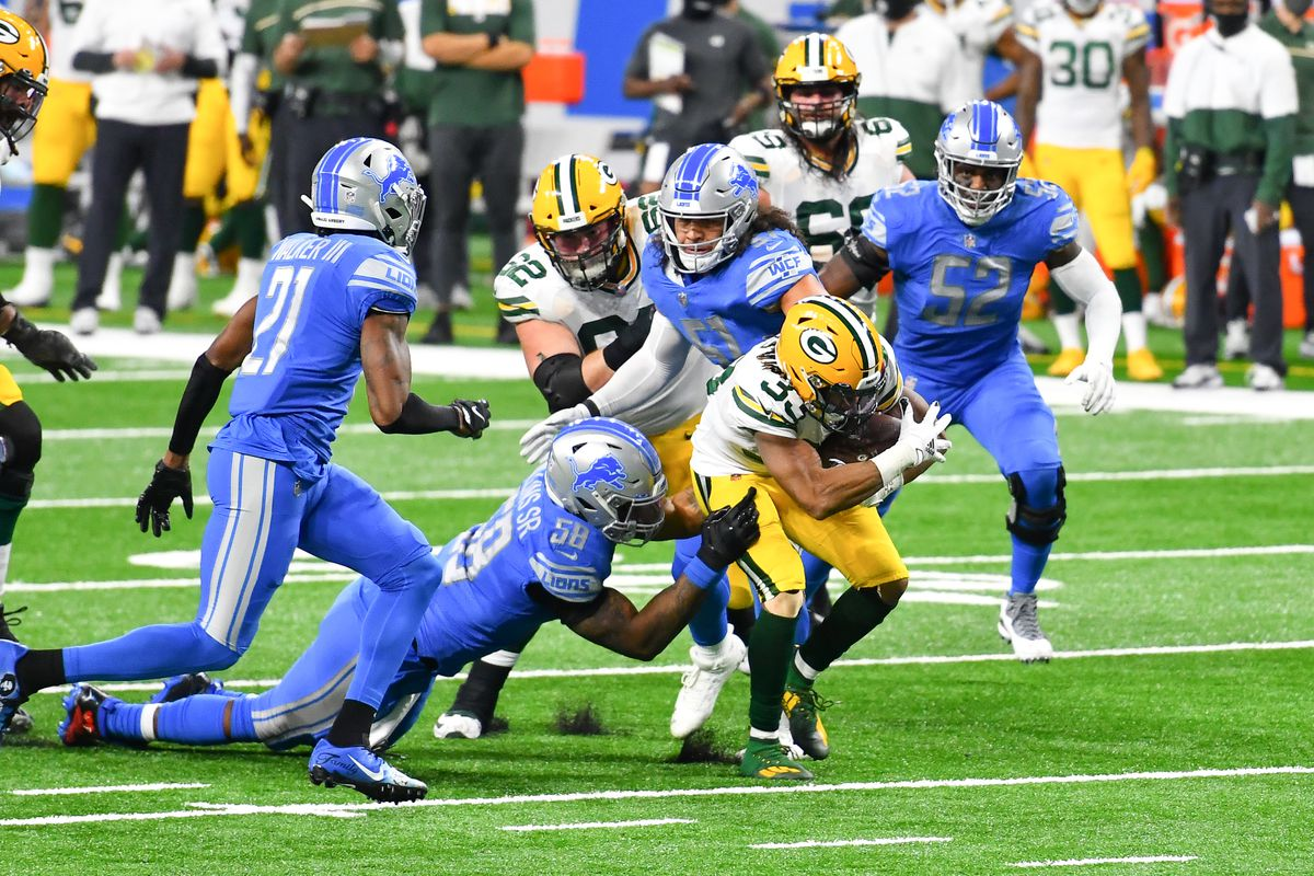 NFL: DEC 13 Packers at Lions