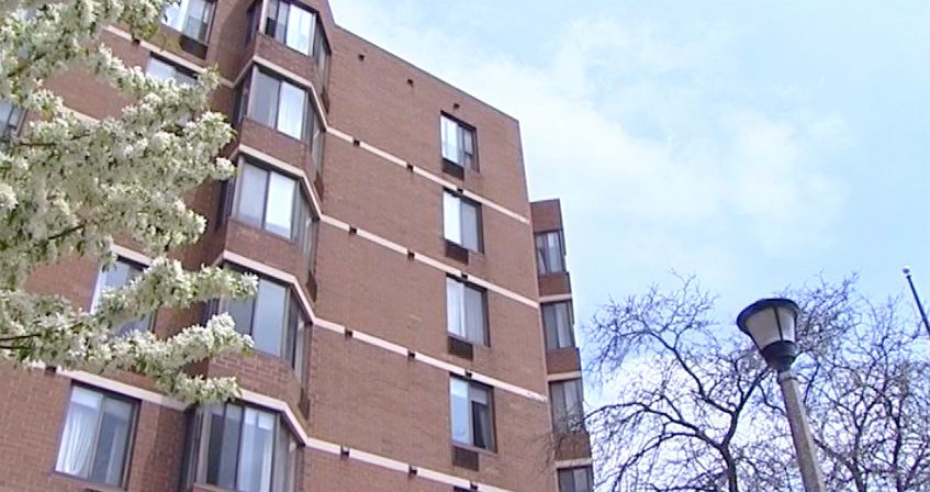 A man died after he fell from the roof of an apartment building at 5120 Galitz St. in Skokie.   Network Video Productions