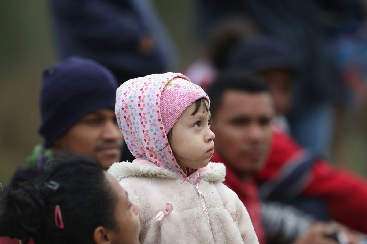 Image result for southern border crisis children