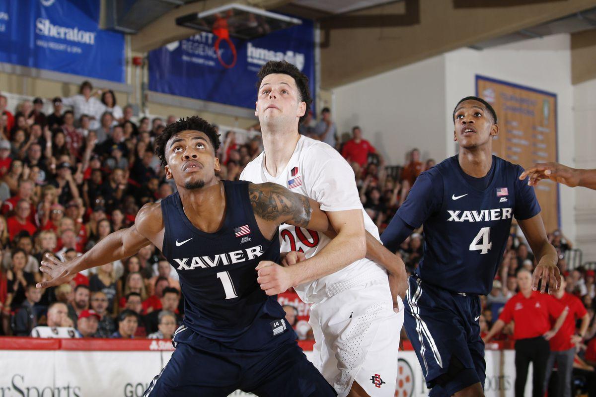 NCAA Basketball: Xavier at San Diego State