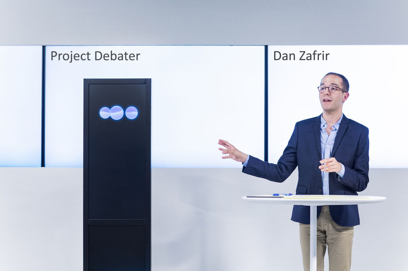 what it s like to watch an ibm ai successfully debate humans