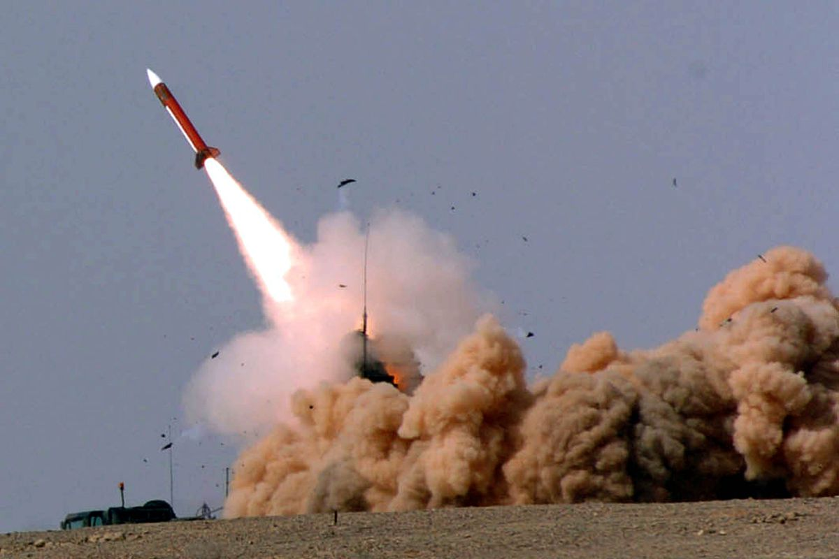 Israel fires a Patriot missile in 2005 during a military exercise.