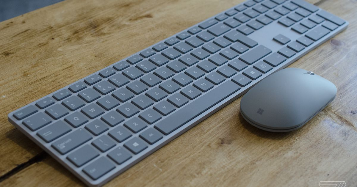 be7e7e3793d Microsoft finally made my favorite keyboard and mouse - The Verge