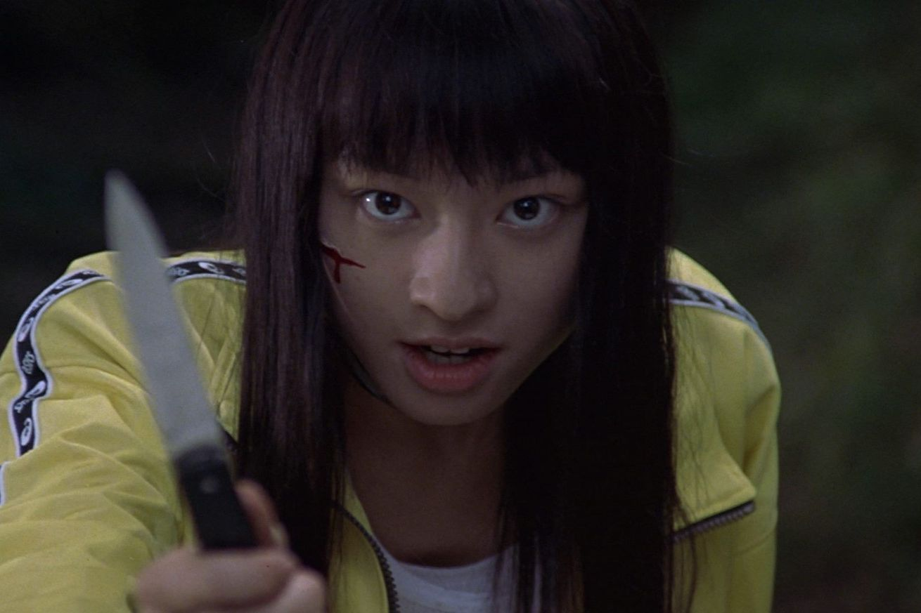 with the first purge in theaters it s a good weekend to watch battle royale on netflix