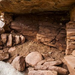 Indian ruins, found in Mule Canyon near Blanding, are pictured on Thursday, Aug. 20, 2015. The Bears Ears area is the center of a proposed 1.9 million acre region to be conserved and possible site of a national monument.