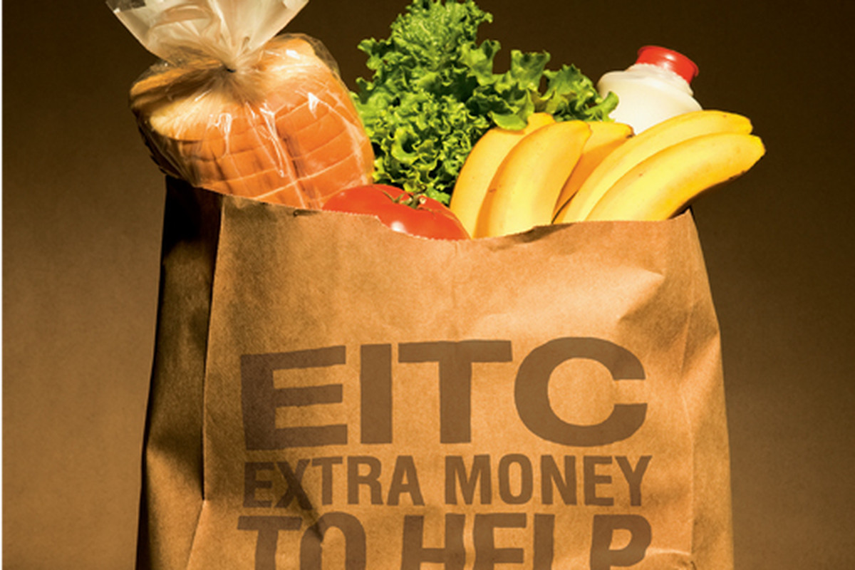 An old EITC advert from the IRS.