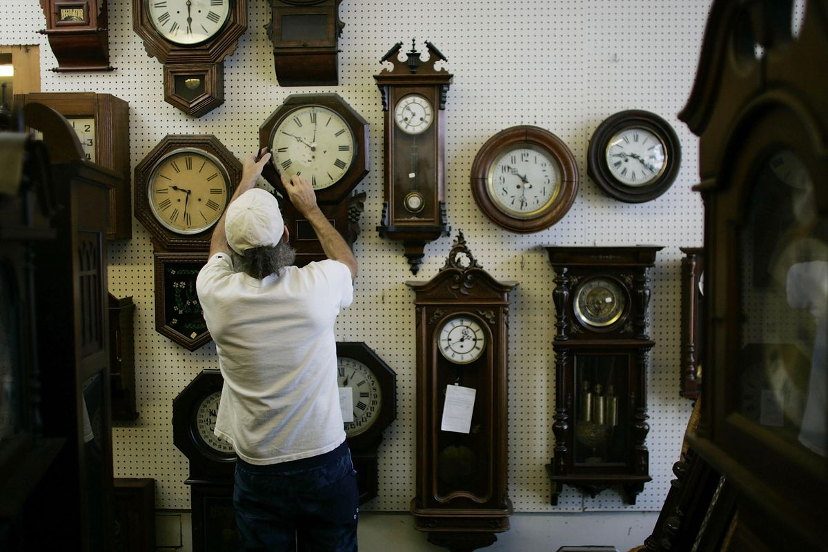 One potential reason to not work at a clock store.