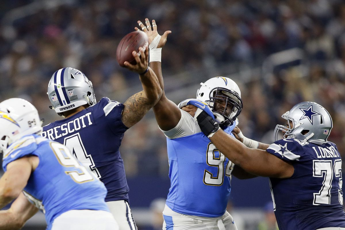 NFL: Los Angeles Chargers at Dallas Cowboys