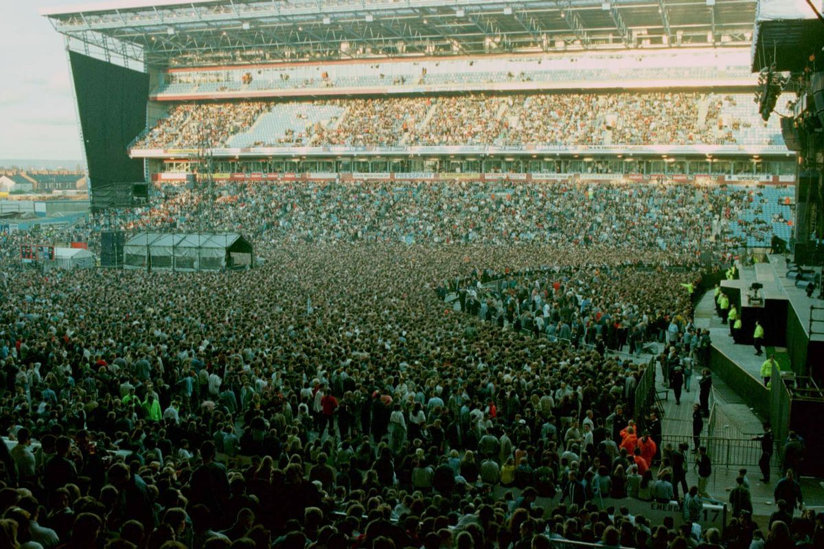 Oasis Concert - Maine Road, Manchester