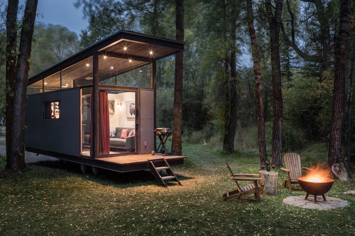 Tiny house from wheelhaus is sleek and airy curbed for The new small house