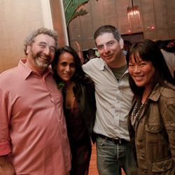 Cesare Casella, Joey Campanaro and Lee Anne Wong