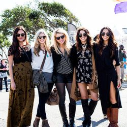 Why we love their looks: How often is an entire group of friends THIS stylish?