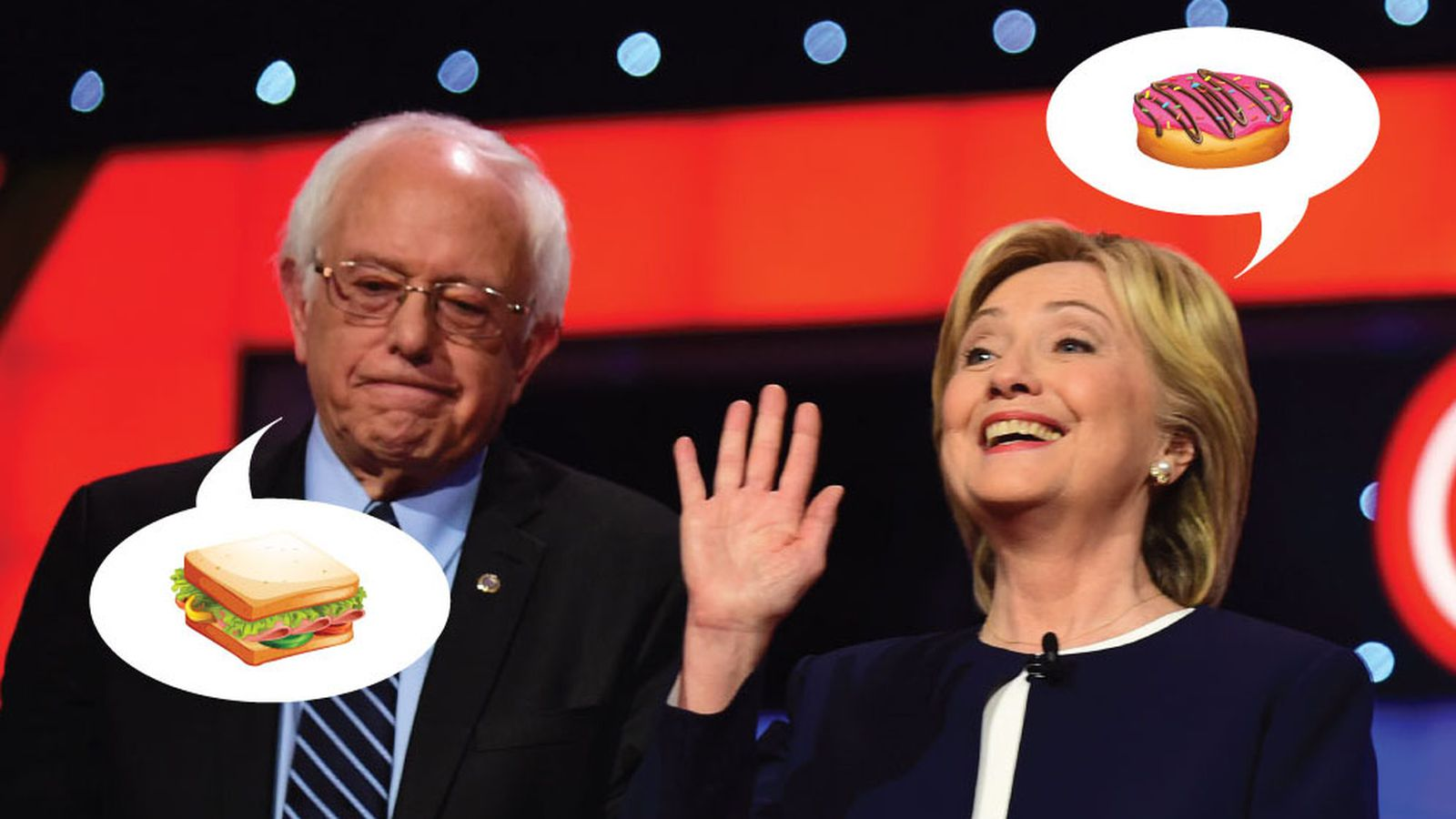 What The 2016 Presidential Candidates Are Spending On Food