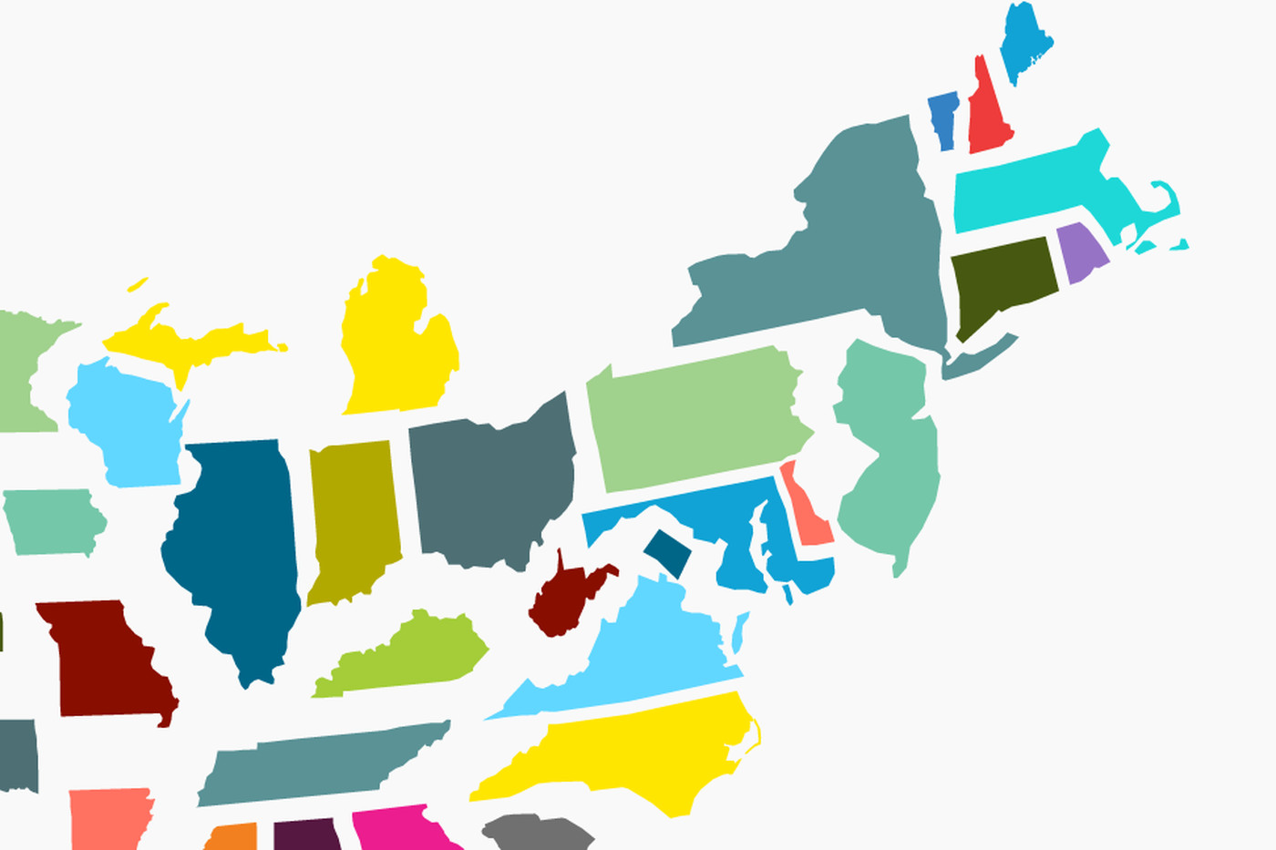 This Is What The United States Looks Like If You Scale States By - Us map scaled to population