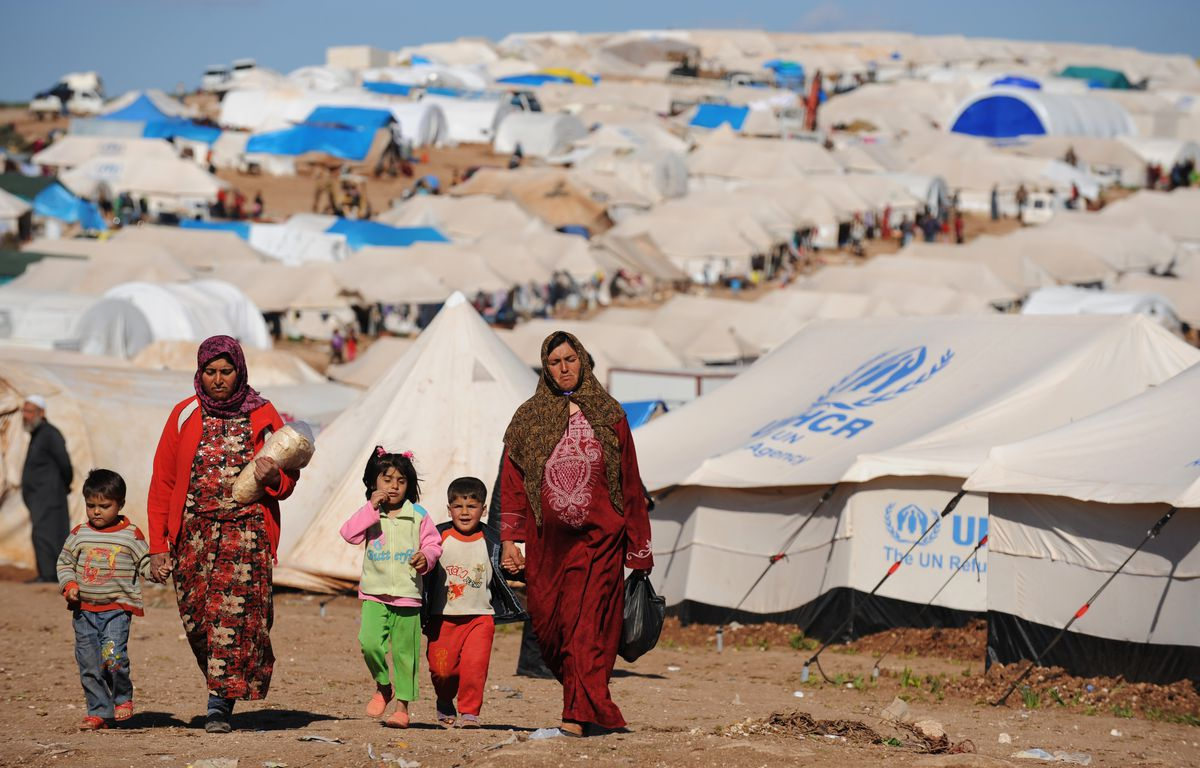 syrian internally displaced atme