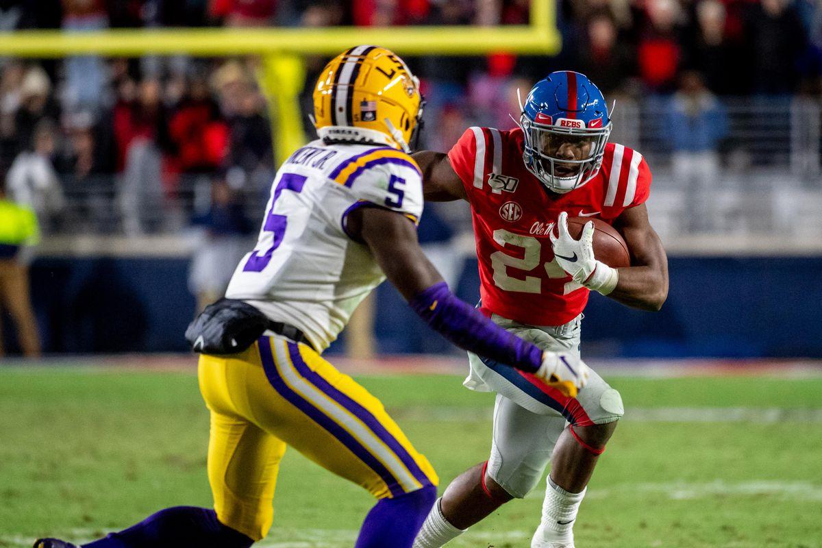 NCAA Football: Louisiana State at Mississippi