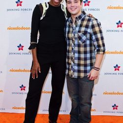 Special Military family screening of Nickelodeon's iCarly on January 13, 2012