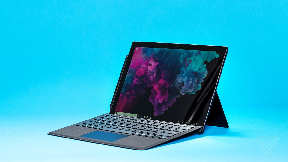Microsoft Surface Pro 6 Review A Familiar Bet The Verge 4 Core I7 8gb 256gb