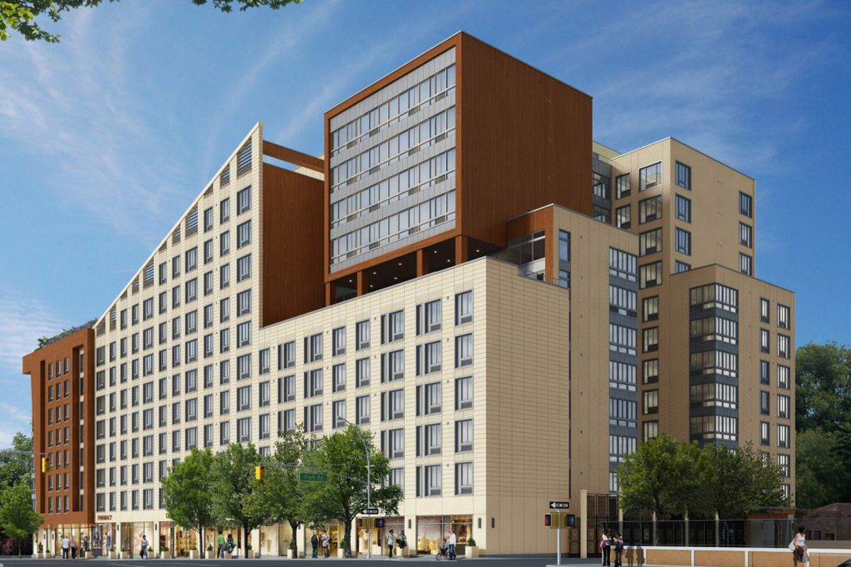 They Re Part Of The 12 Story Development Near Tremont Metro North Station That S Called Renaissance
