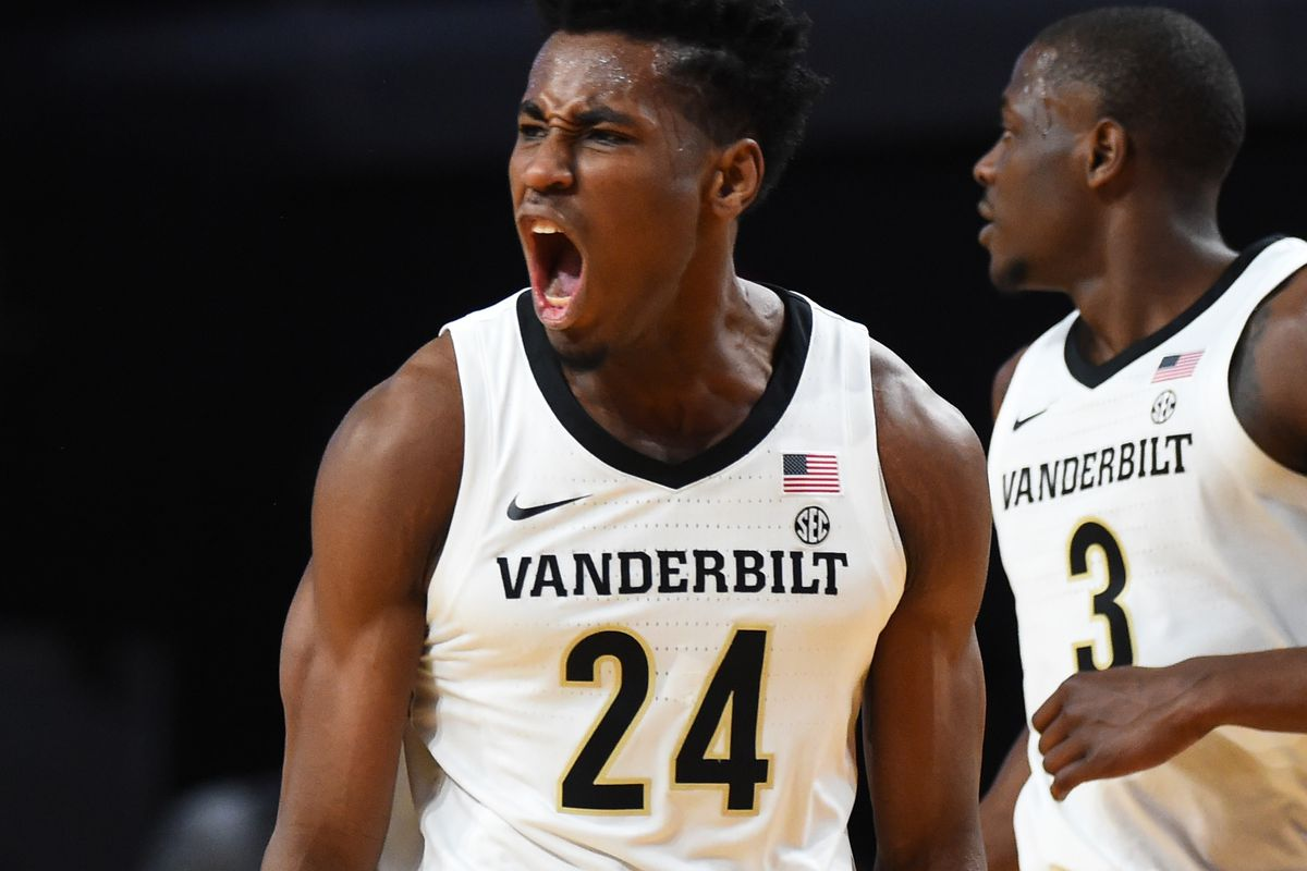 NCAA Basketball: Southern Methodist at Vanderbilt