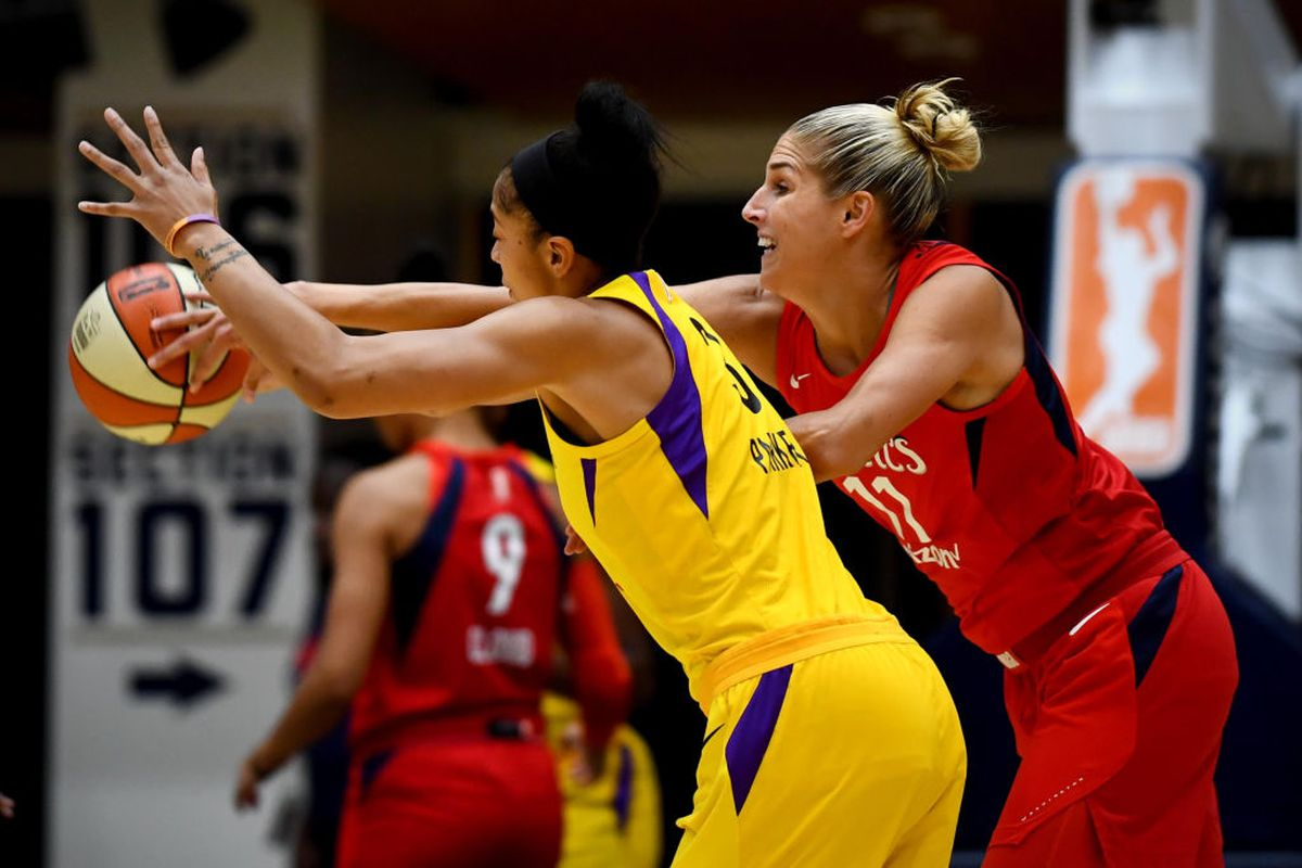 WNBA Preview: Candace Parker returns to the Sparks' lineup vs. Mystics