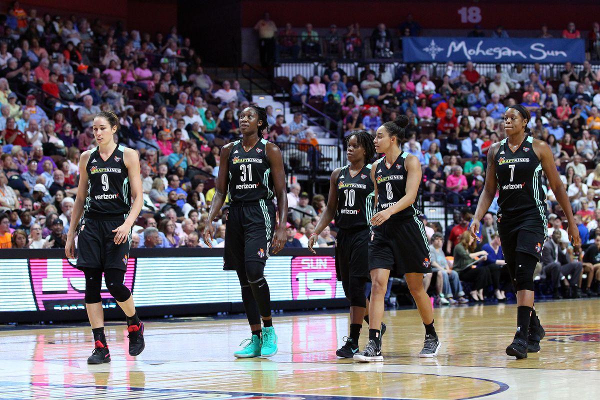WNBA: AUG 18 New York Liberty at Connecticut Sun
