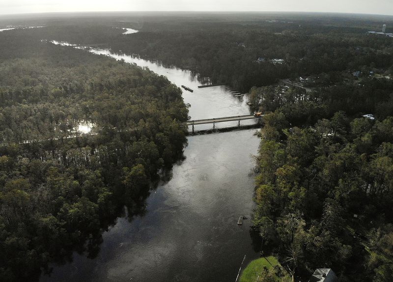 GettyImages_1034802216 Photos: what Hurricane Florence's destruction looks like on the ground