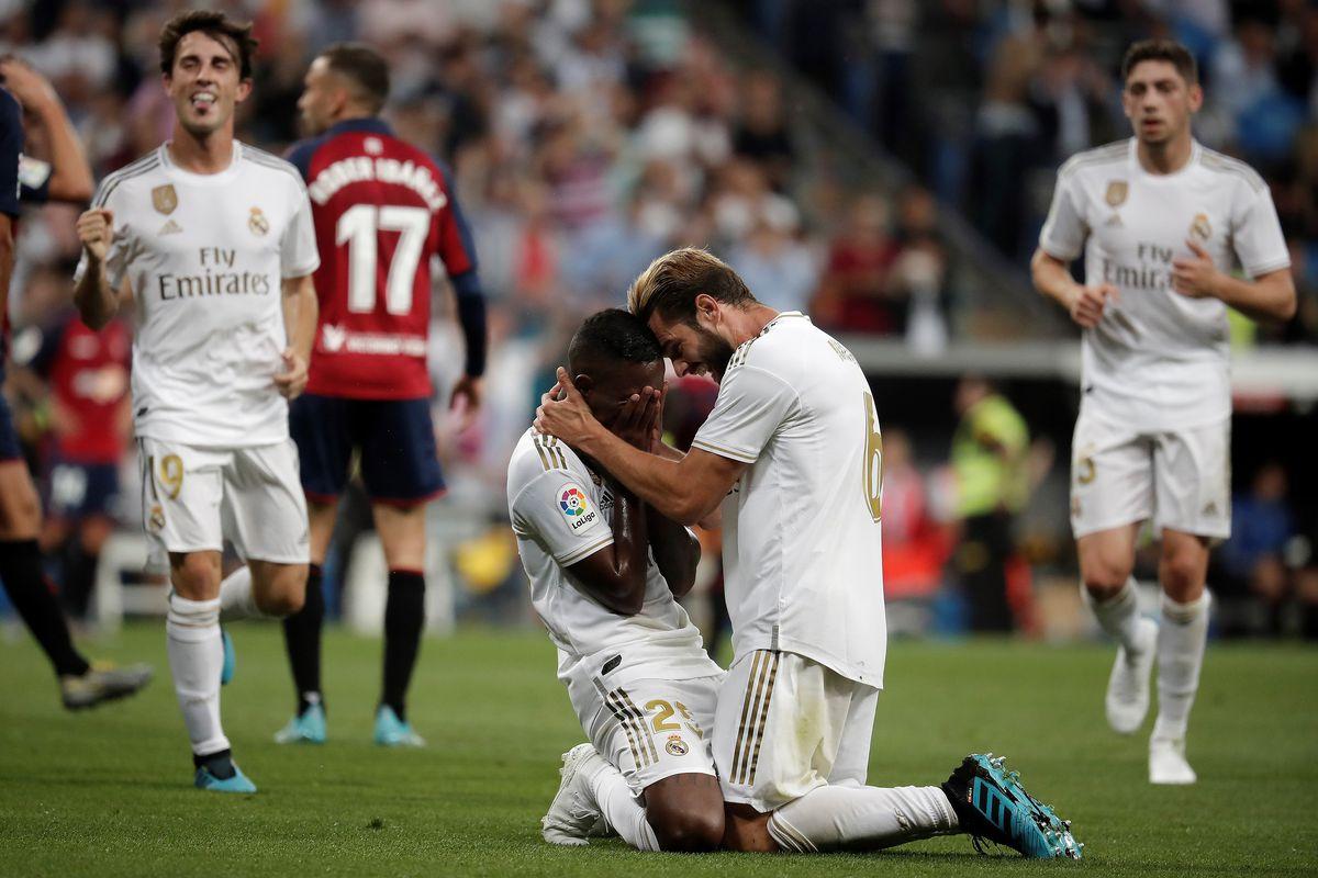 Real Madrid vs Osasuna : La Liga