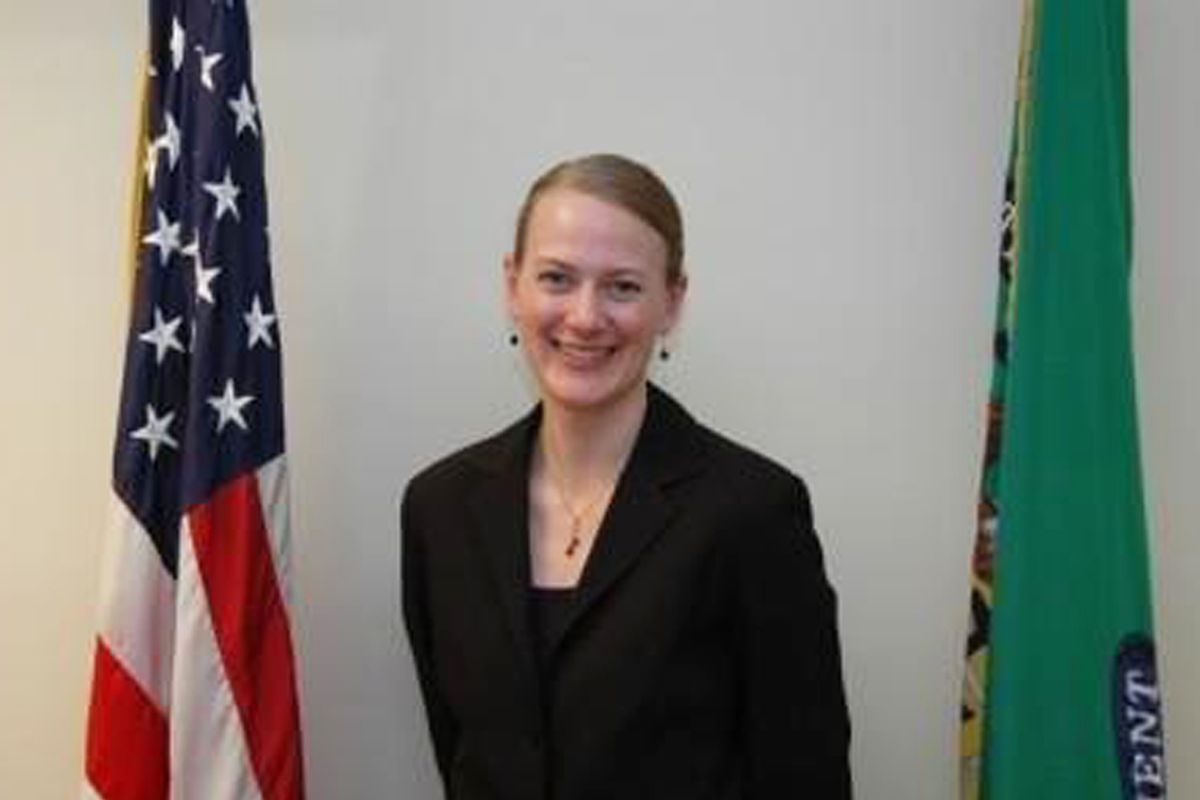 Kathy Enstrom, the first woman to lead Chicago's IRS Criminal Investigation division.