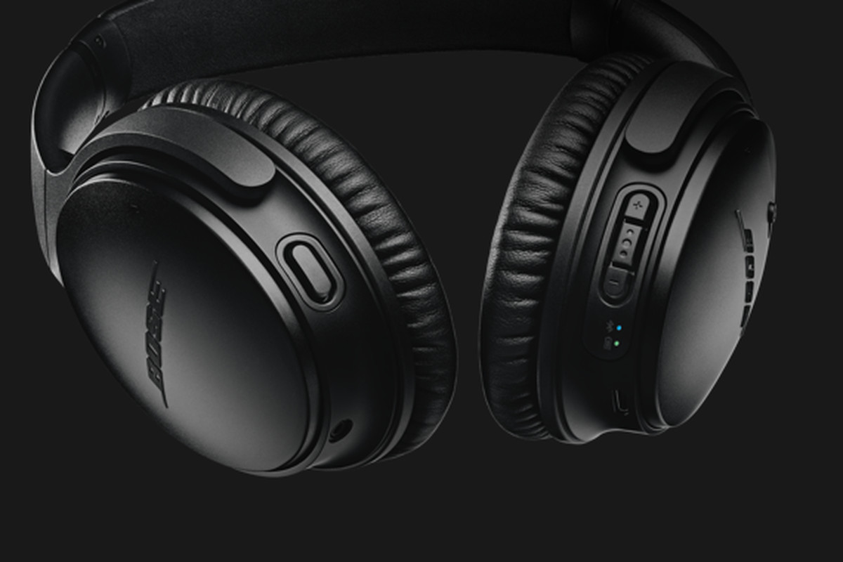 bose. that button on the left earcup doesn\u0027t exist bose\u0027s current qc35 headphones. bose b