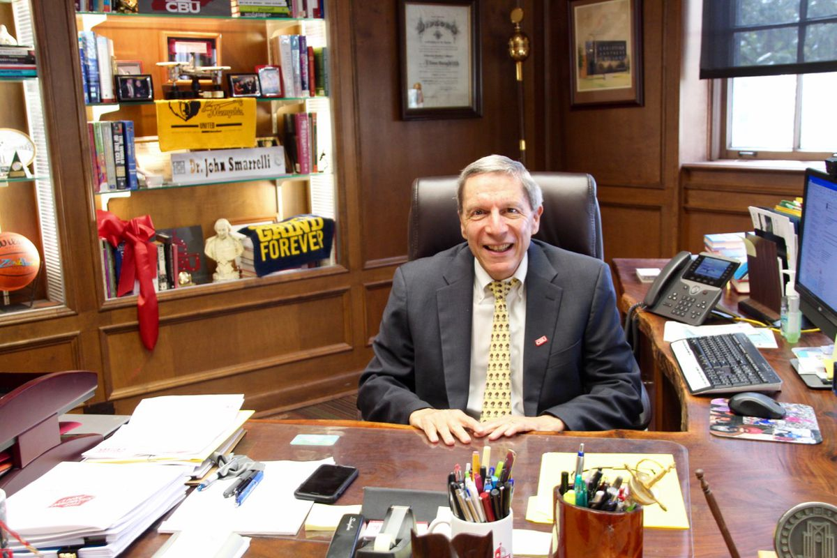 John Smarrelli is the 22nd president of Christian Brothers University — a private Catholic college in the middle of Memphis.