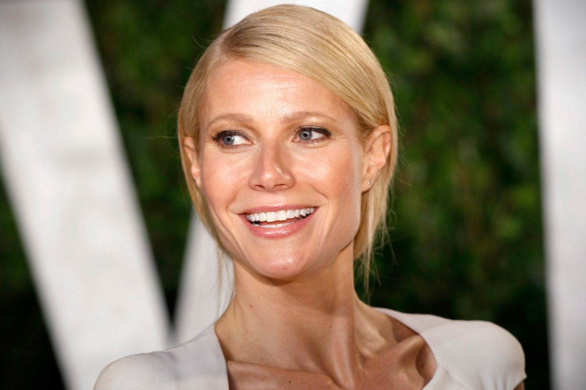 Maybe let's lay off of Gwyneth a little bit.